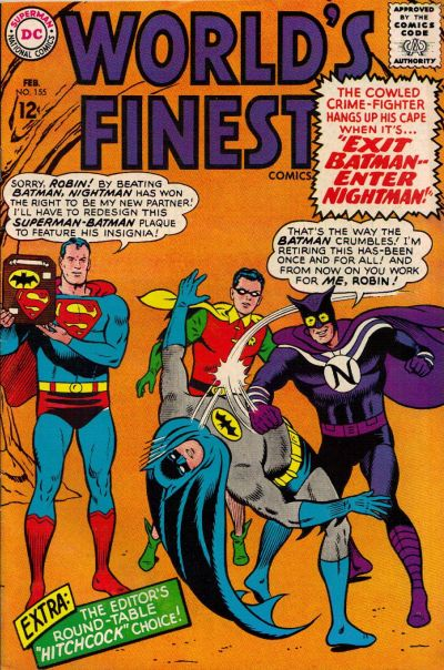 Episode #392 Part I: Superman Family Comic Book Cover Dated February 1966: World's Finest Comics #155!
