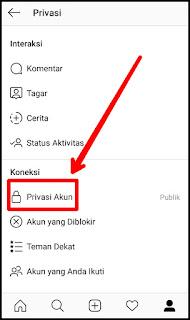 Cara Privasi Instagram Versi Terbaru 6