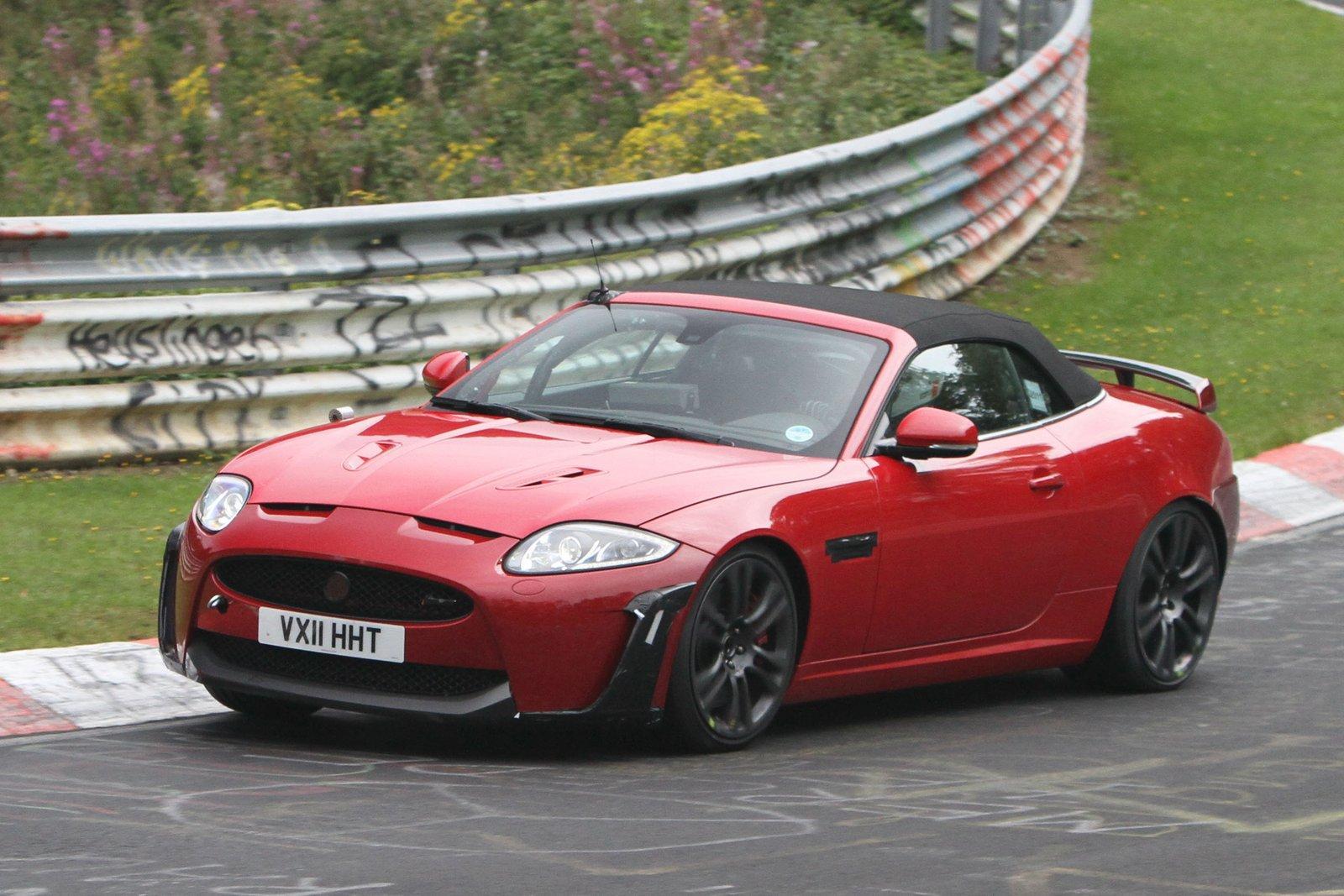 jaguar xkr s cabrio 2012 spyshots car. Black Bedroom Furniture Sets. Home Design Ideas