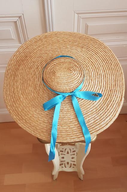 straw bergere hat