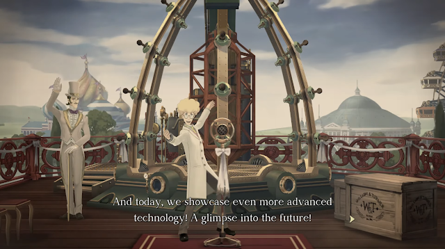 The Great Ace Attorney Chronicles steamship advanced technology future English voice acting