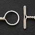 Easy Twisted Wire Toggle Clasp Tutorial