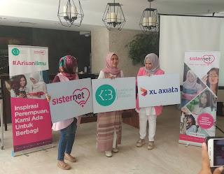Arisan Ilmu KEB dan Sisternet di Crowne Plaza Bandung