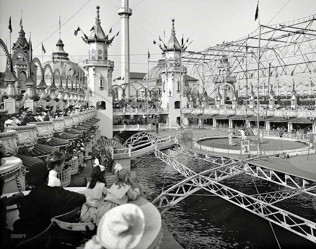 1905 Luna Park at Coney Island USA, a photograph