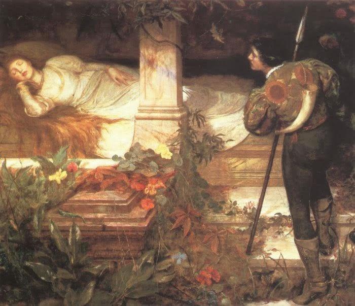 Alla utom den unge trädgårdsmästaren som befann sig utanför rosenbuskarna  som omgav slottet. Han hoppade snabbt över häcken innan den ... f78c63f84a7ea