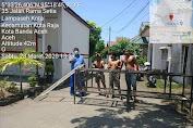 Warga Banda Aceh Lockdown Desa Sendiri