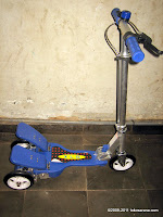 1 XLG 01 Leisure Dual Pedal Drive Scooter
