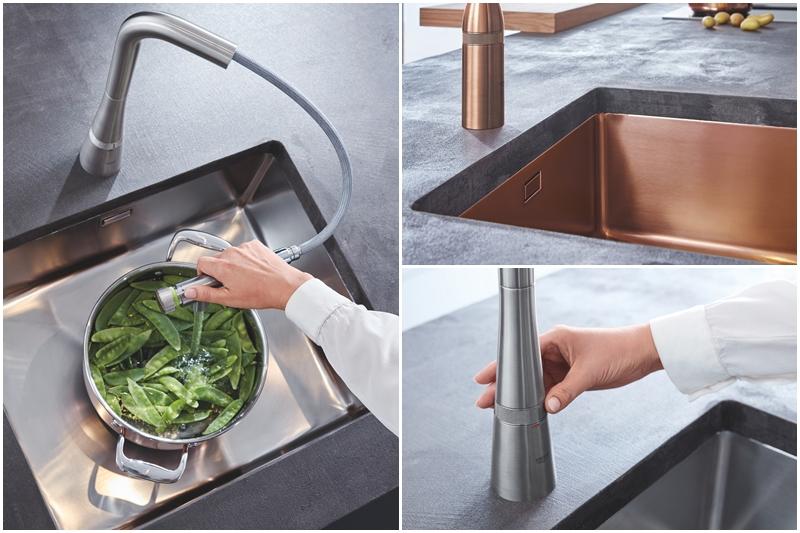 GROHE SmartControl mutfak, 2020'de 10 tasarım ödülü aldı