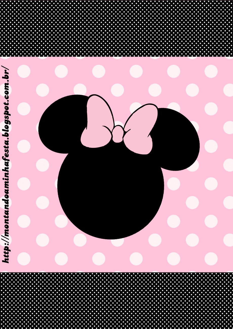 Minnie Rosa: Etiquetas para Candy Bar, para Imprimir Gratis.   Ideas ...