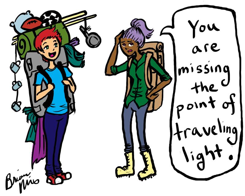 Everyday Idioms!!! Travel Light