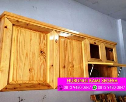 Jasa Pembuatan Kitchen Set Bahan Jati Belanda Cibinong 0812 9480 0847