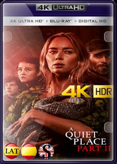 Un Lugar en Silencio: Parte II (2021) REMUX 4K UHD HDR LATINO/ESPAÑOL/INGLES