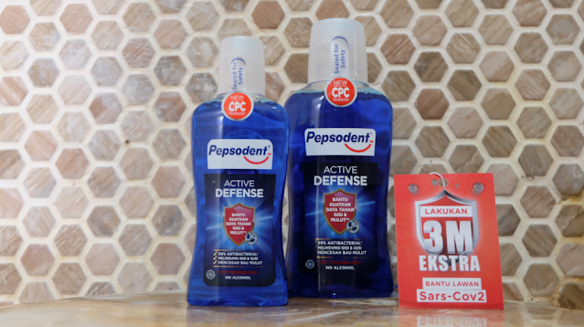 Pepsodent Active Defense Mouthwash