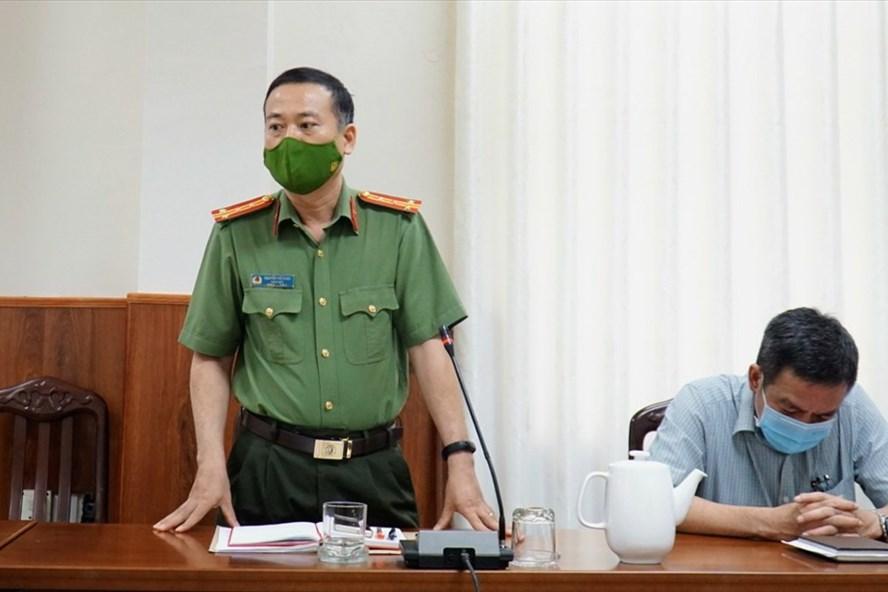 Giám đốc Công an Ninh Thuận nói về việc lập biên bản người dân về quê