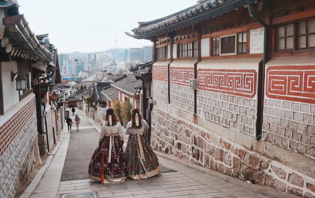 Hanok Village, Korea Selatan