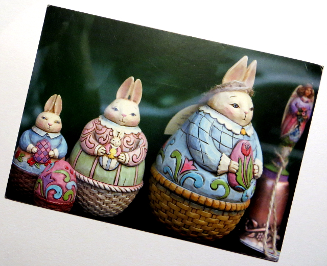 Easter Bunny Card from Russia