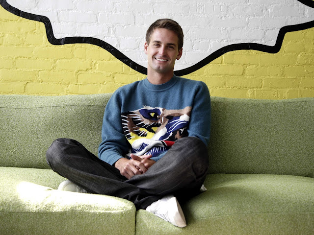 Evan Spiegel founder of snap chat