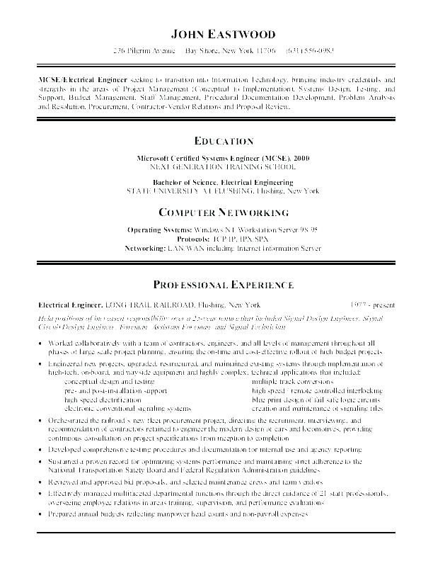 Samples Of Great Resumes Excellent Resume Sample A Good Objectives Objective
