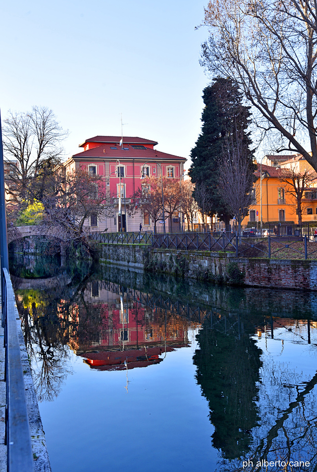 Milano, naviglio Martesana