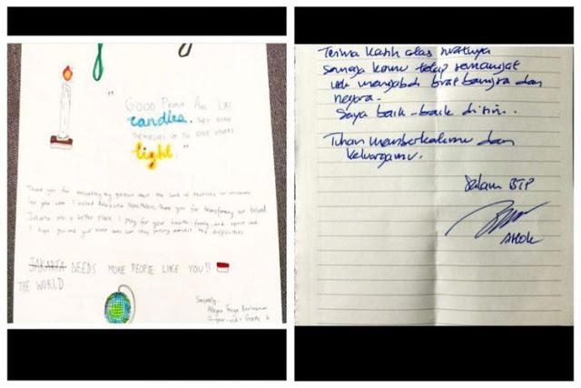 Keaslian surat dari adik pak Ahok