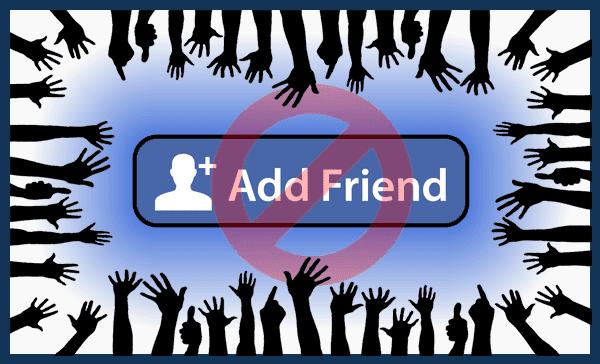 كيف تتجنب حظرك من إرسال طلبات الصداقة من طرف الفيسبوك