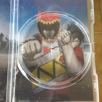 dvd power rangers