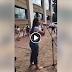 VEJA VÍDEO: Ivete Sangalo desce do seu apartamento e faz pockt show para fãs comemorando seu aniversário!