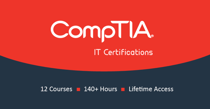 CompTIA IT Certification Training 2018 — 12 Course Bundle