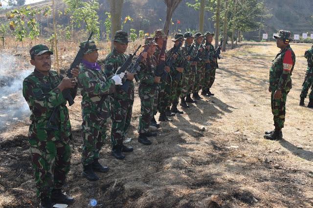 Pelihara Ketangkasan, Prajurit Kodim 0716 Demak Laksanakan Latihan Menembak