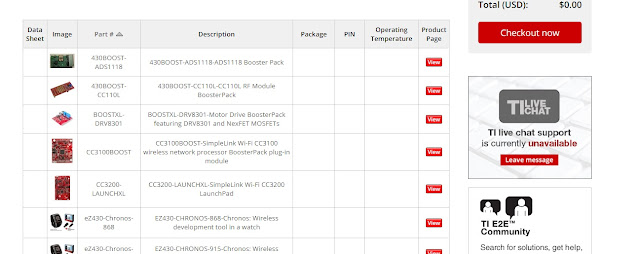solicita tus muestras gratis de componentes electronicos TEXAS INSTRUMENTS