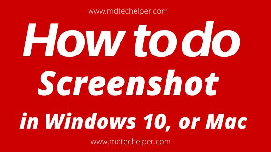 window 10 screenshot