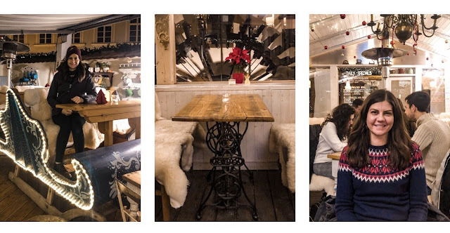 3 days in Prague at Christmas: favourite restaurant
