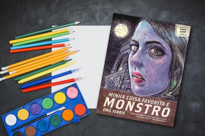 Minha Coisa Favorita é Monstro | Emil Ferris