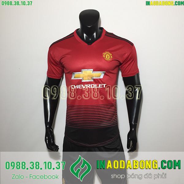Áo bóng đá câu lạc bộ MU màu đỏ