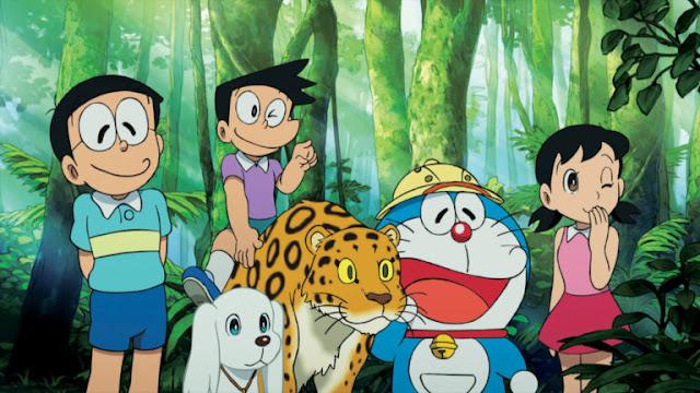 Doraemon And His Friend Jungle Fun HD Wallpapers