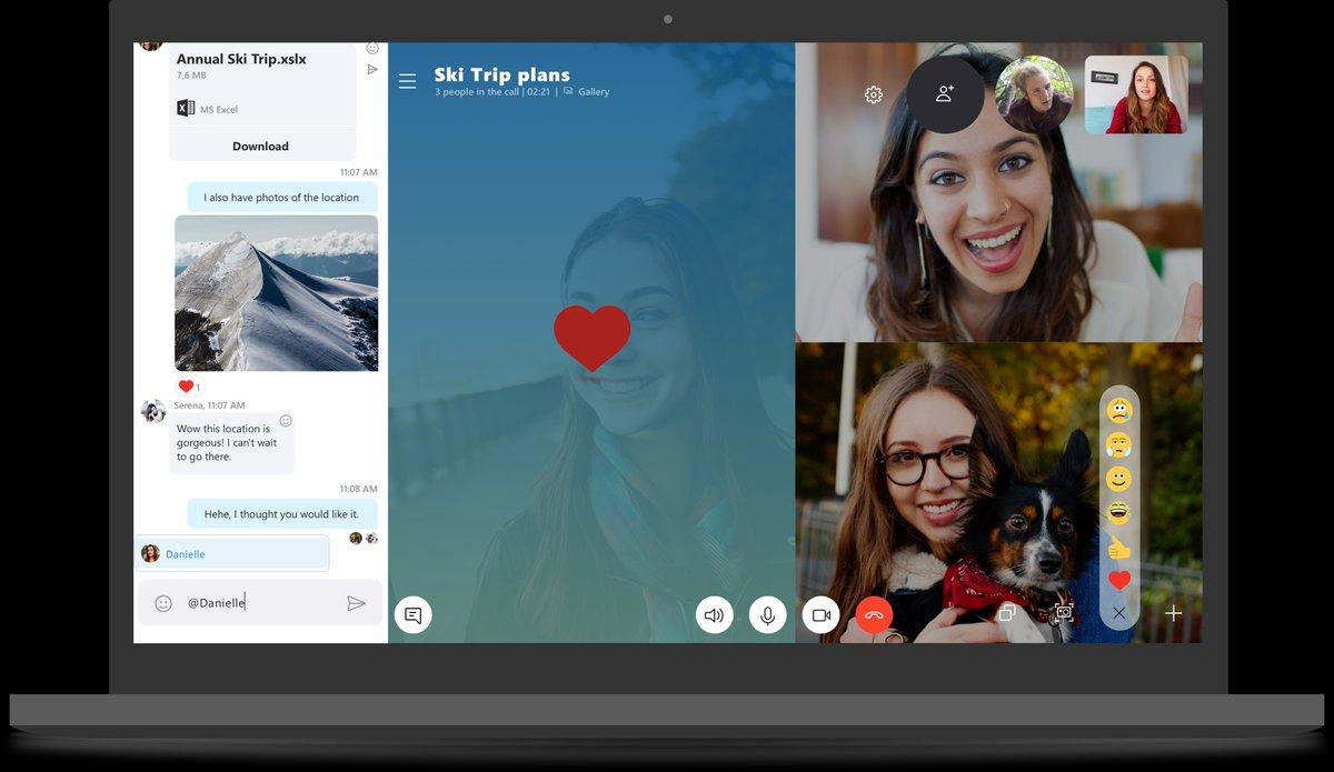 Skype Preview consente di inviare messaggi audio da PC