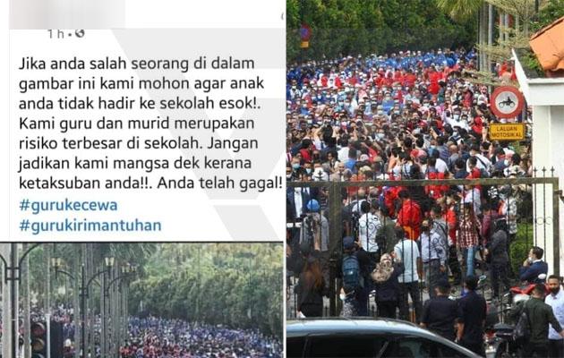 'Jangan jadikan kami mangsa dek kerana ketaksuban politik korang!'