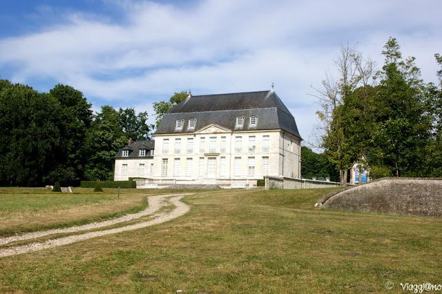 Edifici all'interno del Parco dell'Abbaye de Jumieges