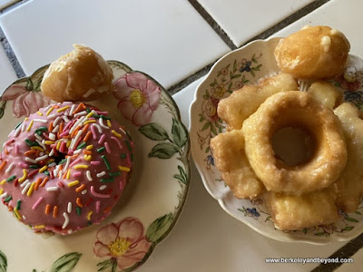 donuts from Johnny's Donuts in Lafayette, California