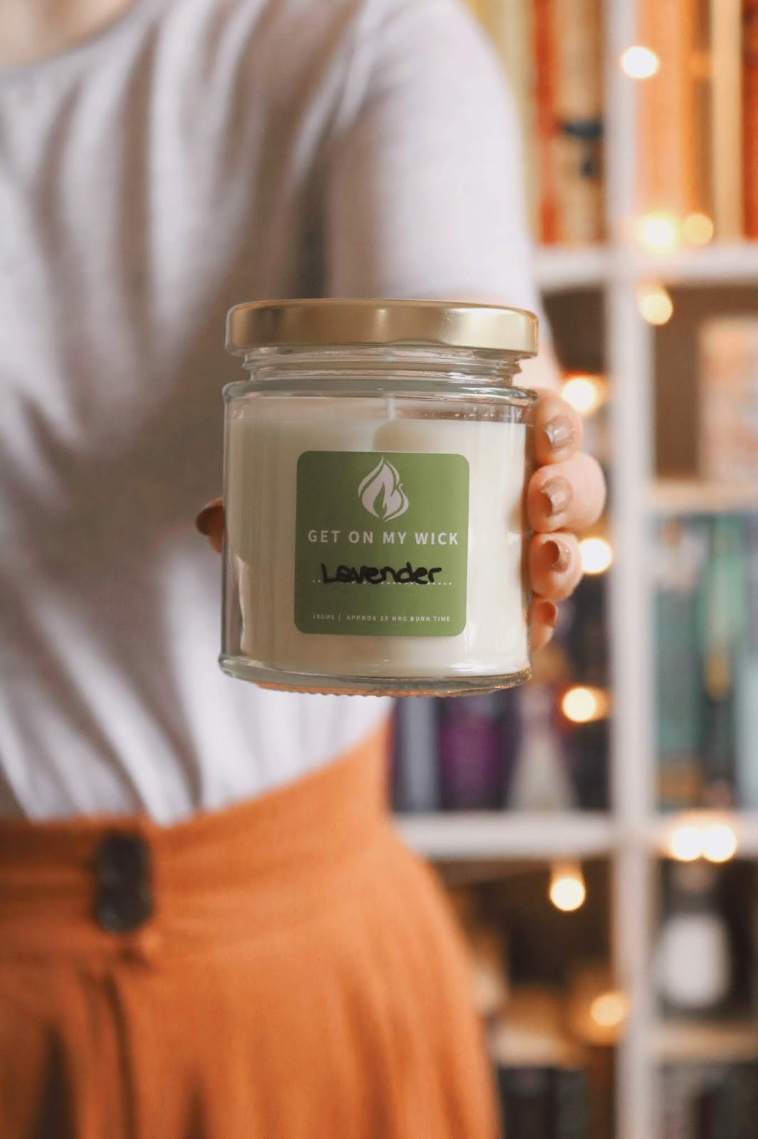 Get On My Wick Lavender Candle