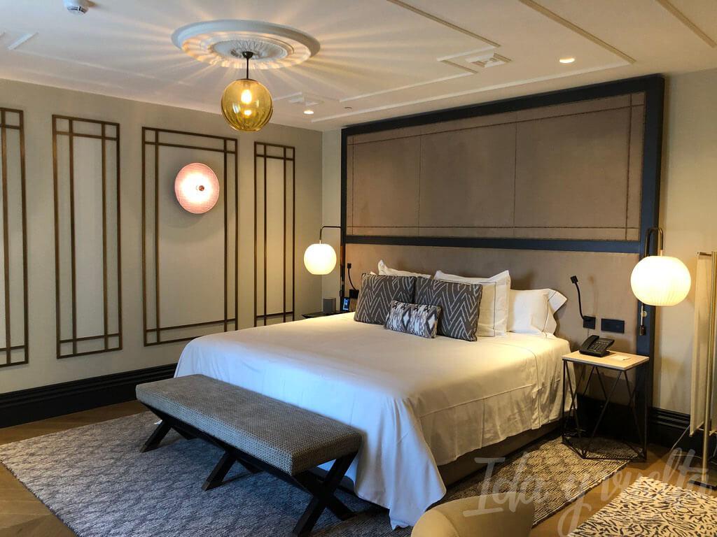 Nuestra habitación del Cool Rooms Atocha