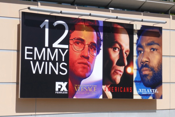 FX 12 Emmy Wins billboard