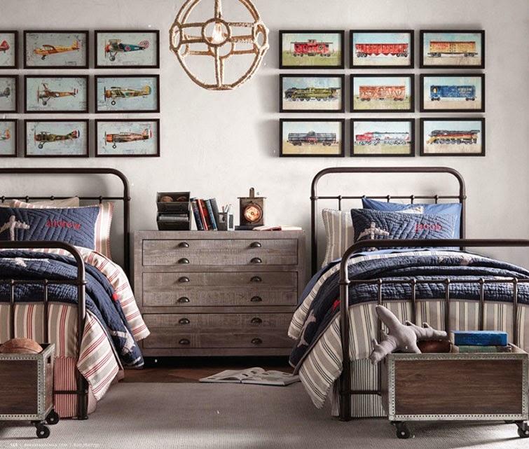 20 dormitorios juveniles para varones m s chicos - Dormitorios para chicos ...