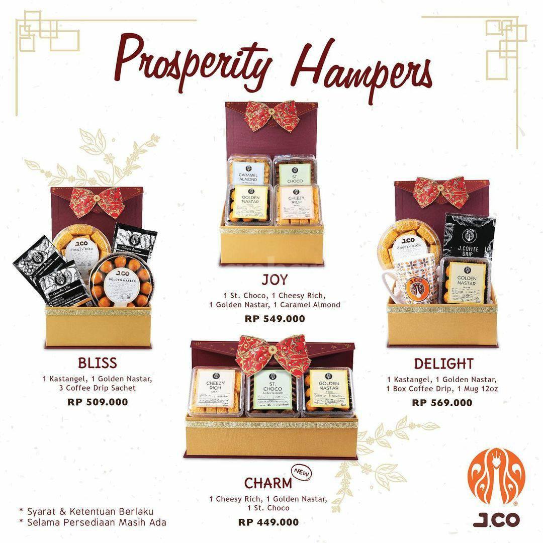 JCO PROSPERITY HAMPERS! Harga Spesial paket mulai Rp 449.000