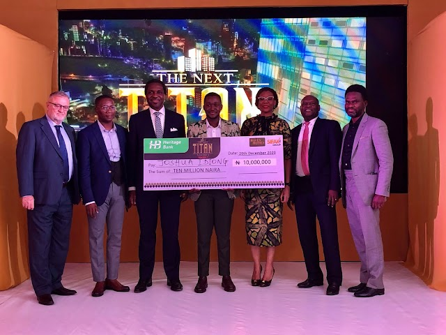 Heritage Bank Powers Palm Oil Entrepreneur With N10m In The Next Titan Season-7