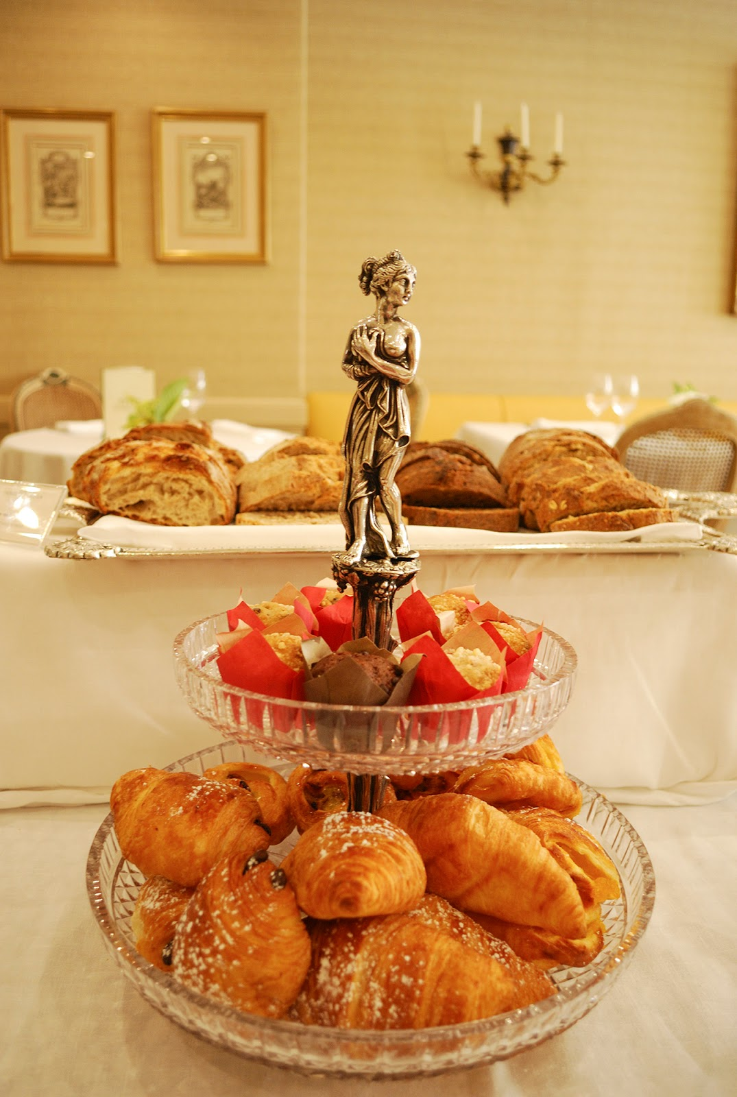 Hotel Orfila brunch Madrid Spain five star buffet