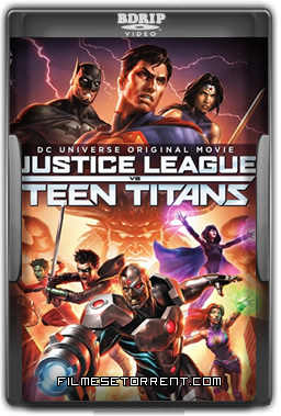 Justice League vs. Teen Titans Torrent BDRip Legendado 2016