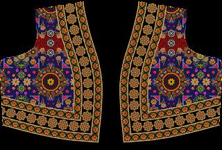 Ghaghra Choli Design Front 2488