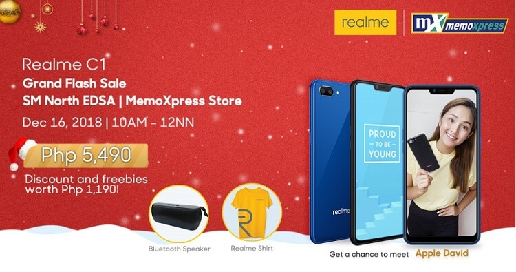 Realme, MemoXpress to Hold Grand Flash Sale