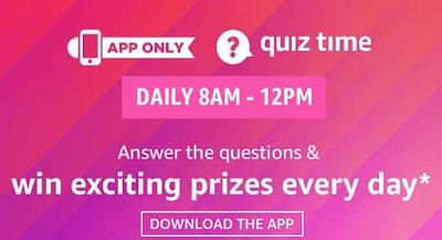 Hot Deal Amazon Quiz Answers | 31-Mar-2020 | (Win Canon 1500D DSLR Camera)